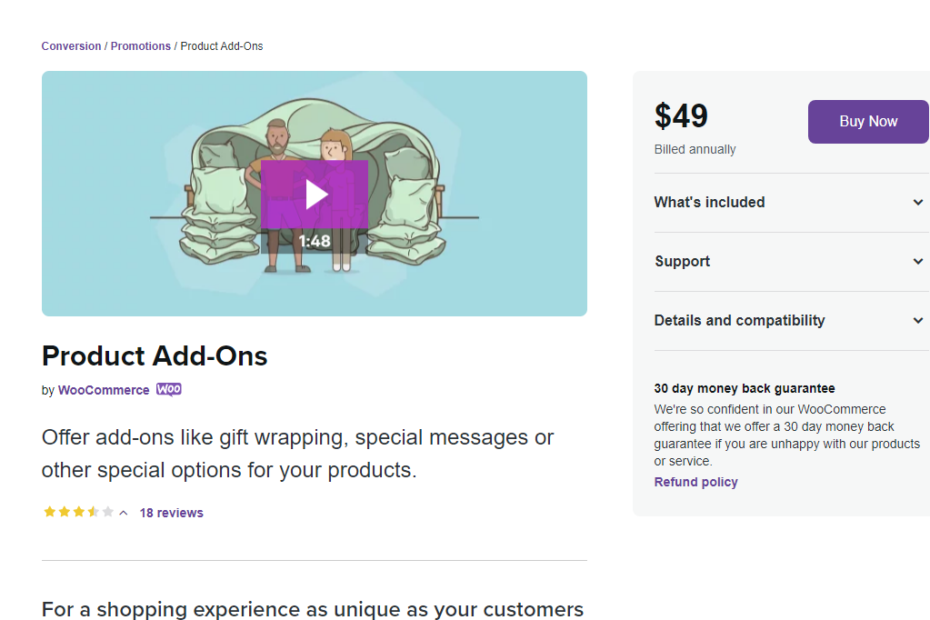 WooCommerce Product Add-Ons Nulled