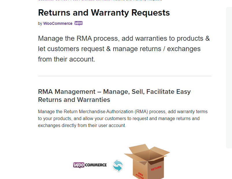 WooCommerce Returns and Warranty Requests Nulled