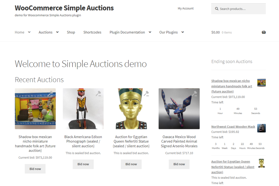 WooCommerce Simple Auctions Nulled