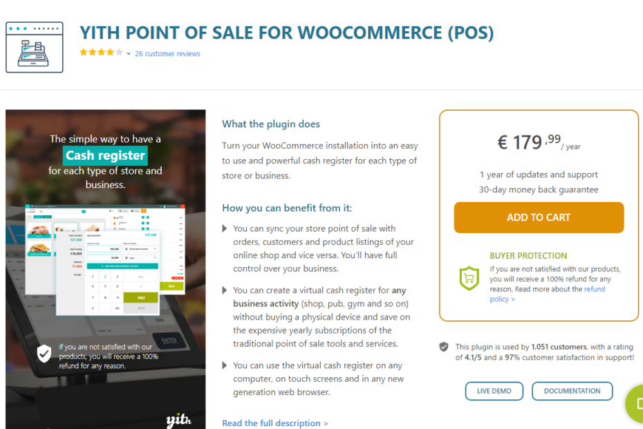 YITH Point of Sale for WooCommerce (POS) Nulled