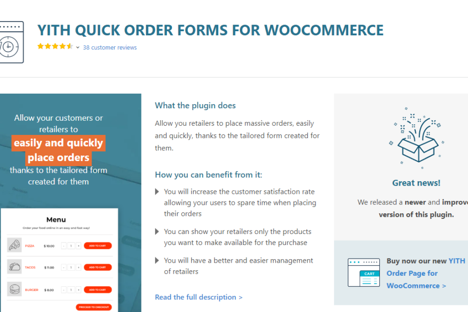 YITH Quick Order Forms for WooCommerce Premium Nulled