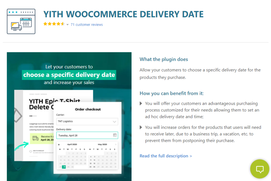 YITH WooCommerce Delivery Date Premium Nulled