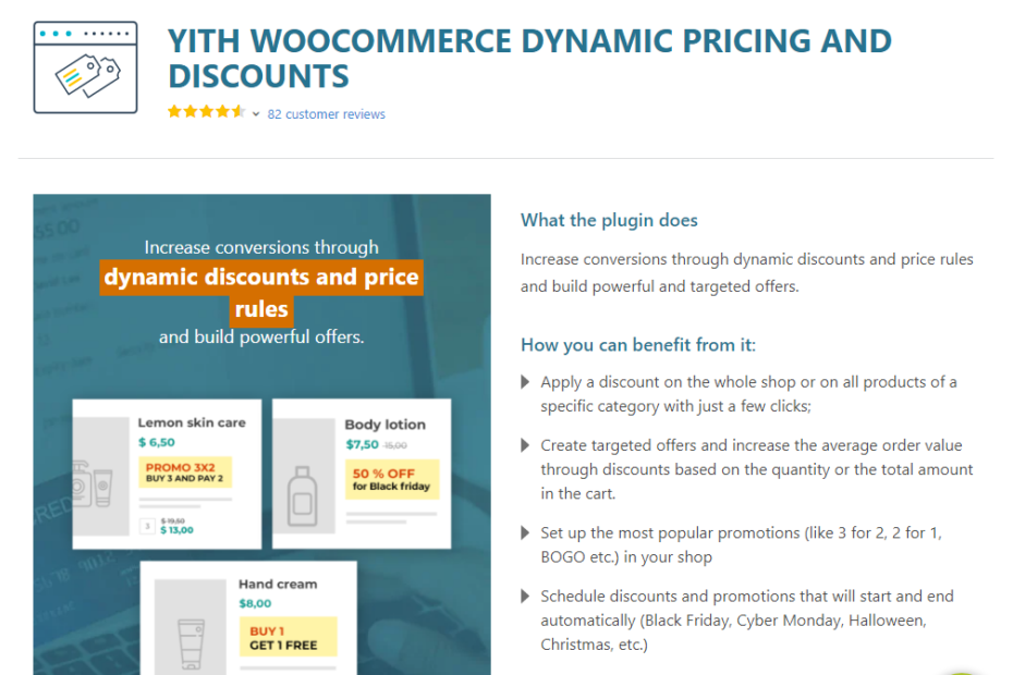 YITH WooCommerce Dynamic Pricing and Discounts Premium Nulled