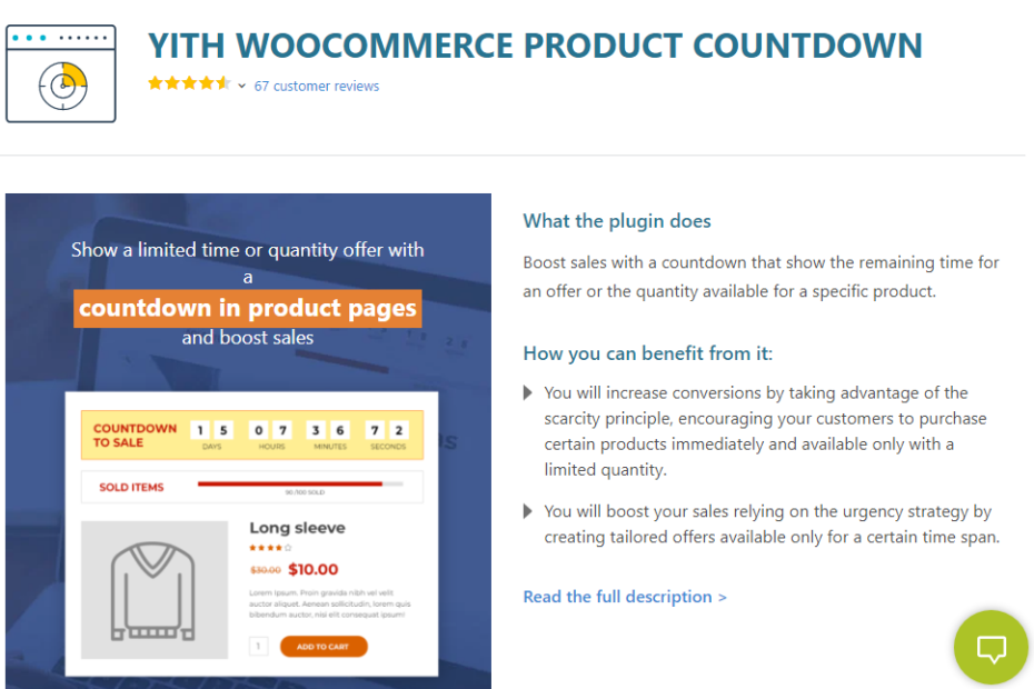 YITH WooCommerce Product Countdown Premium Nulled
