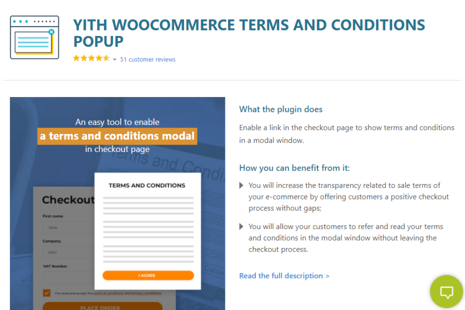 YITH WooCommerce Terms and Conditions Popup Nulled