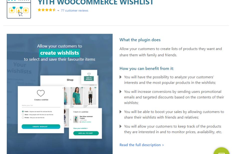 YITH WooCommerce Wishlist Premium Nulled