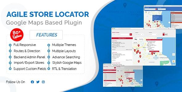 Agile Store Locator Nulled Plugin