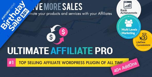 Ultimate Affiliate Pro WordPress Plugin