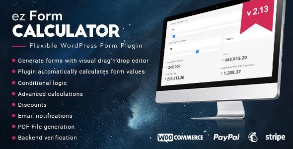 ez Form Calculator Nulled Plugin