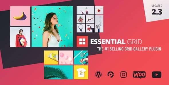 Essential Grid Gallery Nulled Plugin