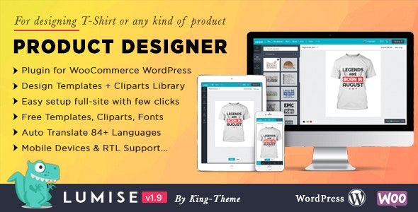 Product Designer for WooCommerce Nulled Plugin