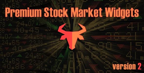 Premium Stock Market & Forex Widgets | WordPress Plugin