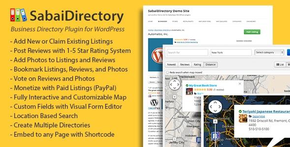 Sabai Directory Nulled Plugin
