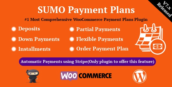 SUMO WooCommerce Payment Plans Nulled Plugin