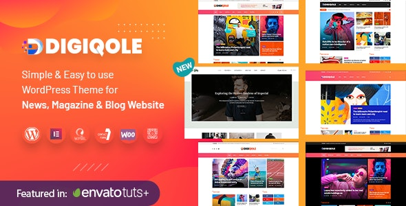 Digiqole Nulled Theme