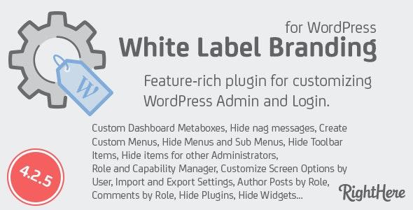 White Label Branding Nulled Plugin