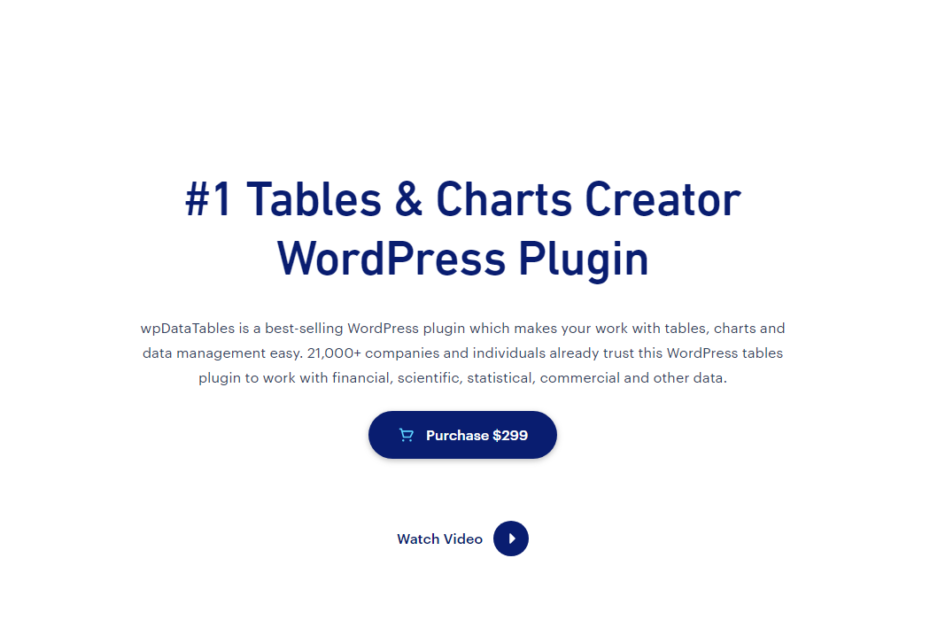 wpDataTables Nulled