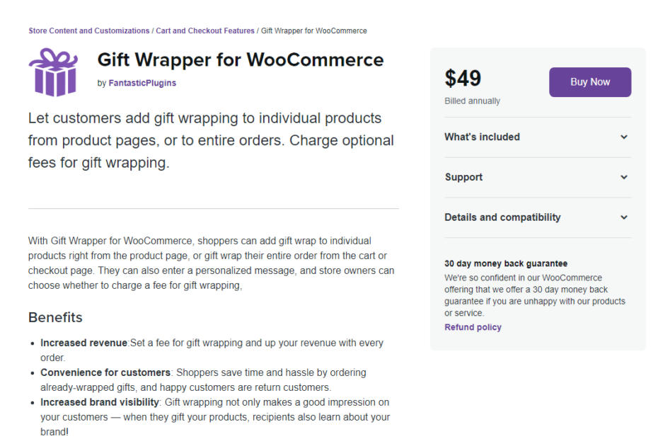 Gift Wrapper for WooCommerce Nulled
