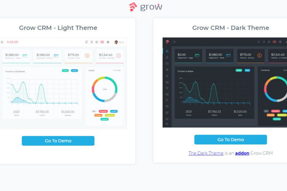 Grow CRM Nulled