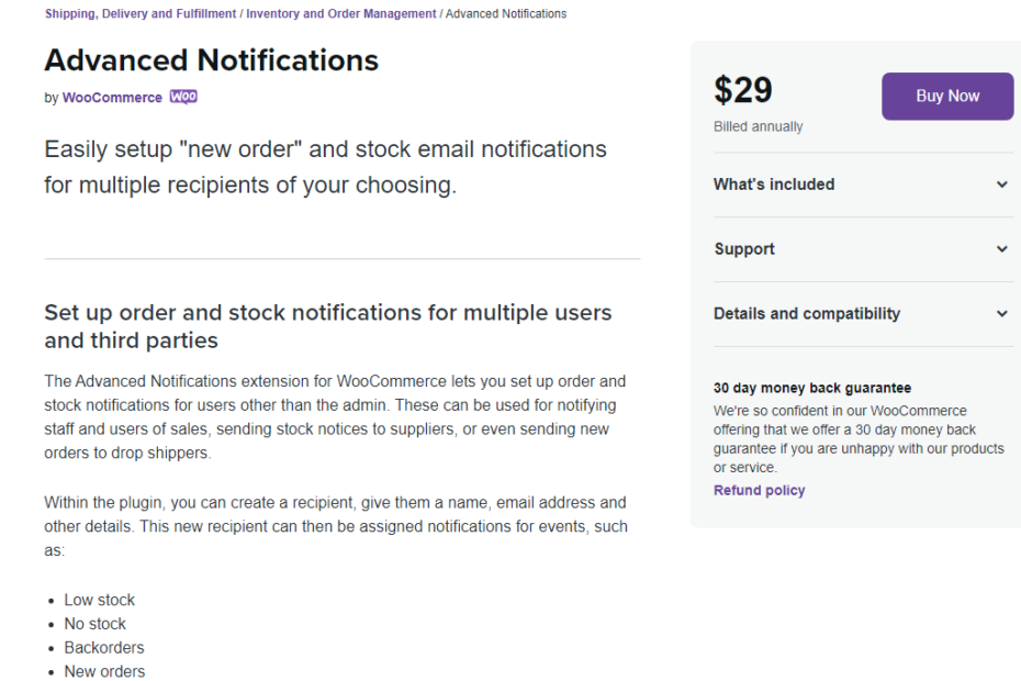 WooCommerce Advanced Notifications Nulled