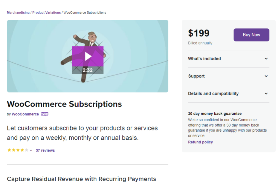 WooCommerce Subscriptions Nulled