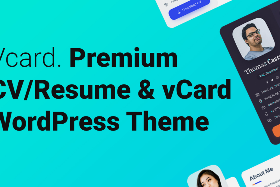 free download Vcard nulled